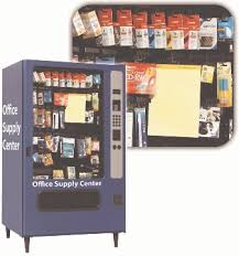 Vending Machine Supplies Wholesale Interesting Vending Machine That Dispenses Office Supplies Great For Inventory