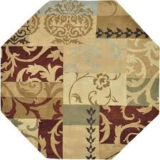 octagon rugs 10 area for
