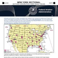 Sectional Aeronautical Chart Vfr New York Sectional Chart