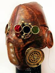 steampunk leather mask muzzle by thousandformed steampunk now