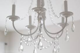 plastic crystals for chandeliers as your own family home