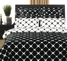 black and white duvet covers double 9pc modern reversible 400tc black white bed in a bag
