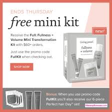 receive a free 10 pc gift with 60 living proof purchase
