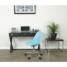 teal office chair. Ave Six Emerson Teal Office Chair
