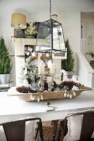 Luckily, the at home stored open recently and you can get a decent sized one with a flat bottom for $20.00. Christmas Dough Bowl Centerpiece Homemade Christmas Table Decorations Christmas Table Decorations Christmas Centerpieces