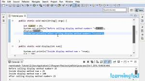 Pass By Value And Pass By Reference In Java Video Tutorial