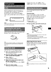 sony cdx gt32w operating instructions page 15 type your new search above
