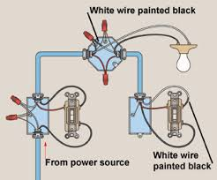 how to wire three way light switches diagram and electrical wiring