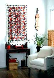 hanging rugs rug wall hanging rugs on walls nomadic decorator hung by rods how to hang hanging rugs