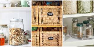 Organizing Kitchen Pantry 15 Pantry Organization Ideas How To Organize A Kitchen Pantry