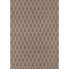 momeni baja taupe 2 ft x 4 ft indoor outdoor area rug