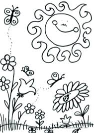 Small Picture Fascinating Spring Coloring Pages Printable Fresh Astounding