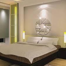 Dreieckige Muster Spiegelwand Aufkleber Wohnzimmer Schlafzimmer Ehe