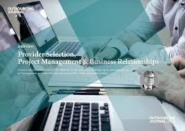 interview provider selection project management business outsourcing
