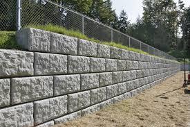 pre cast patio retaining wall blocks r deso inc ready mixed regarding precast concrete retaining wall