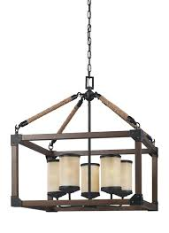 dunning five light chandelier