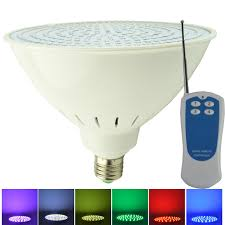 How To Change Light Bulb In Swimming Pool Aliyeah Led Color Changing Swimming Pool Light Par56 E27 2835smd 300 500w Incandescent Bulbs Replacement For Pentair Hayward Light Fixture With Rf