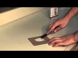 repair laminate countertop