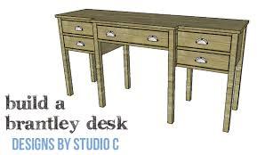 DIY Plans to Build a Brantley Desk-Copy