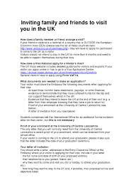 Cover Letter For Uk General Visitor Visa Adriangatton Com