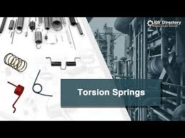 <b>Torsion Springs Manufacturers</b> Suppliers | IQS Directory