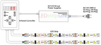 dream color led wire diagram dream database wiring diagram 5050 smd 150leds rgb dream color flexible led strip light connect dream color led wire diagram