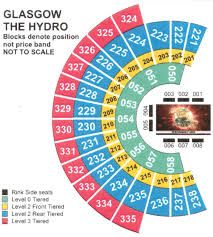 65 Detailed Seating Map Of Sse Hydro Glasgow