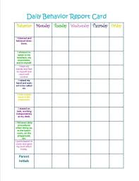 Daily Behaviour Chart Classroom Reward Chart Template Enewspaper Club