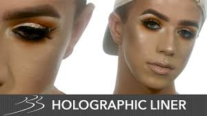 holo liner makeup tutorial with mitc mua beauty bay