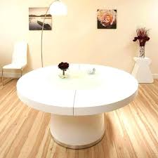 elegant white dining room furniture white gloss round extending dining table innovative large white dining room