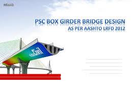 Aashto Lrfd Bridge Design Specifications 2012 Psc Box Girder Design Aashto Lrfd Pdf Document