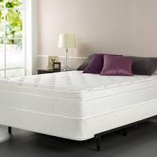mattress and box spring. amazon.com: sleep master icoil 13 inch euro top spring mattress and bifold box set, queen: kitchen \u0026 dining
