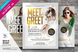 Meet And Greet Flyers Templates Meet Greet Flyer Templates Creativework247 Flyer