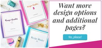 Free Printable Recipe Binder Just A Girl And Her Blog
