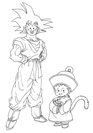 Coloriage Dragon Ball Z Les Beaux Dessins De Dessin Anim