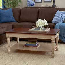 three posts classic two tone coffee table reviews wayfair