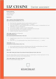 Resume Template For Dental Assistant Gorgeous Sample Of Dental Assistant Resume Dental Assistant Resumes Examples