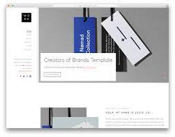 Work Portfolio 28 Free Portfolio Website Templates For All Creative