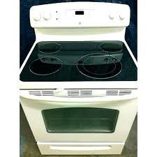 ge glass cooktop replacement replace glass top stove replacement self cleaning white profile ge oven door