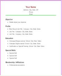Resume Builder For Highschool Students Resume Resume Maker For