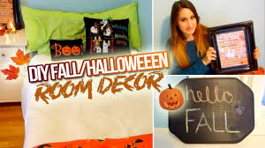 diy fall halloween room decor 2014 youtube
