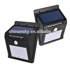 Smart Led Solar Sensor Wall Light Smart Led Solar Sensor Wall Solar Pir Utility Light