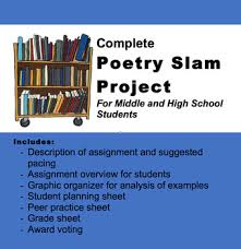 Poetry Slam Project For Middle And High School Students Ms Word
