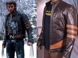 details about x men wolverine logans xo replica leather jacket biker style