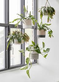decorative hanging planters wrought iron hanging planters wall
