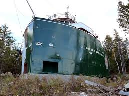 Benson Ford House Bow Of Great Lakes Freighter Becomes Summer Cottage Rc Groups