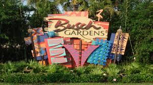 busch gardens sign tampa