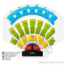 Axis Planet Hollywood Seating Chart View Planet Hollywood Zappos Theater Seating Chart Www