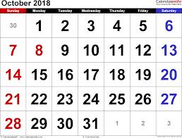 october 2018 indian calendar with holidays