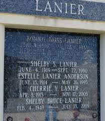 Shelby Bruce Lanier (1949-2009) - Find A Grave Memorial